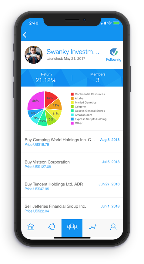 voleo the social trading app for investment clubs